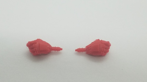 Robot Glove Hands (Red)