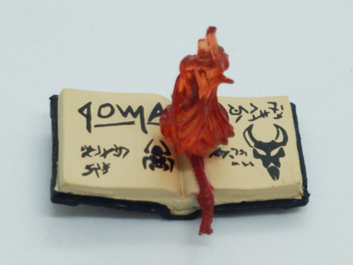 Gazoge Open Book with Red Flame