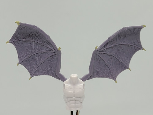 Custom WINGED >  Cloud White Male Torso with wing holes (NO WINGS INCL.)