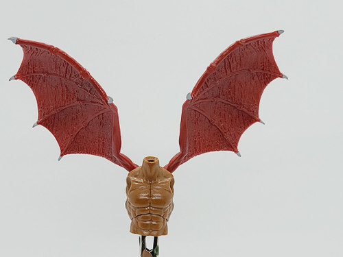 Custom WINGED >  Myrmex Warrior Torso with wing holes (NO WINGS INCL.)