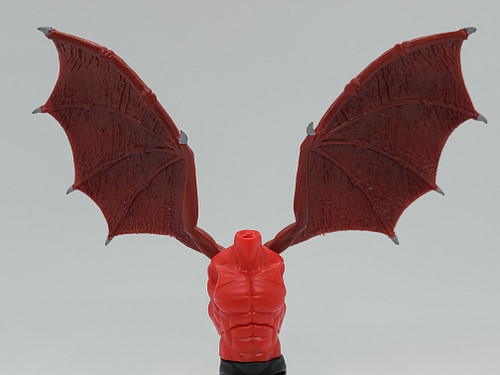 Custom WINGED > Lipstick Red Torso with wing holes (NO WINGS INCL.)