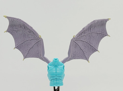 Custom WINGED > River Styx Guardian Torso with wing holes (NO WINGS INCL.)