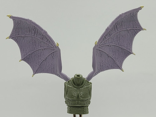 Custom WINGED > Monster Blank Torso with wing holes (NO WINGS INCL.)