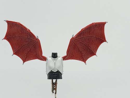 Custom WINGED > Castle Guard Torso with wing holes (NO WINGS INCL.)