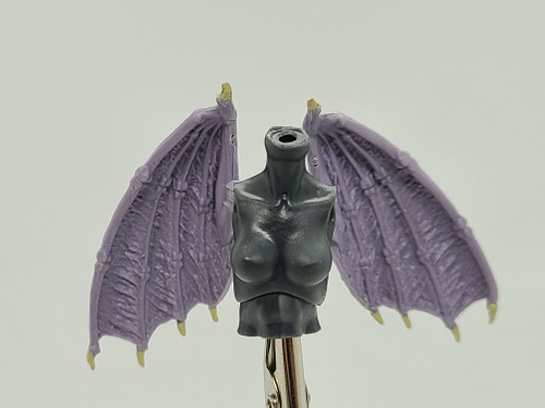 Custom WINGED > Narissa Torso with wing holes (NO WINGS INCL.)