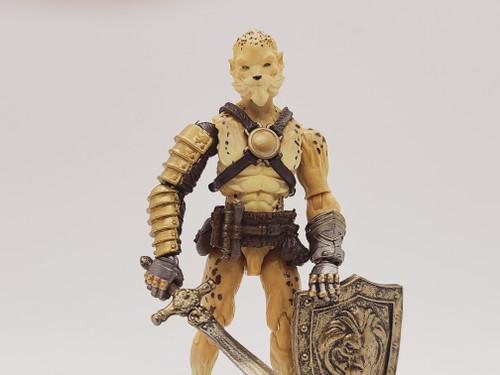 Ahaw Kin (Lion Attack) - a Vitruvian Armory Custom