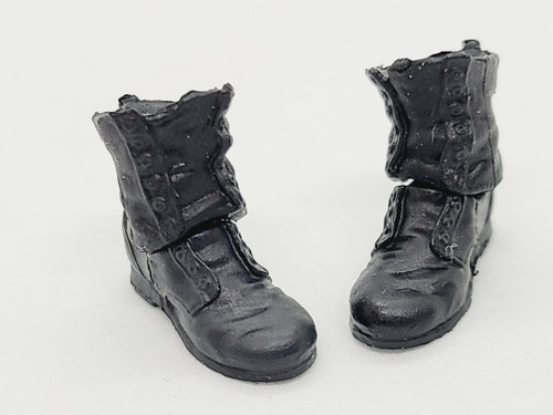 Skeleton Kit - Black Work Boots