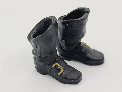 Skeleton Kit - Black Pirate Boots