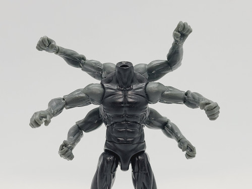 Custom ARMED > Black Male  6-armed Torso (no arms included)