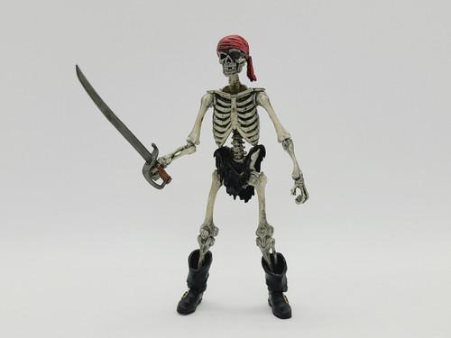 "SATURDAY NIGHT SPECIAL - ""Chips"" the Pirate Skeleton - a Vitruvian Armory Skeleton Kit Custom"