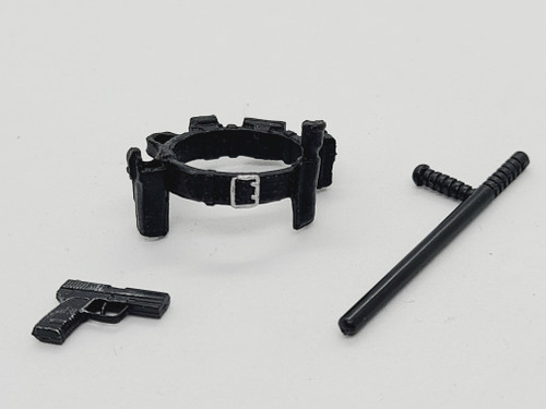 Police Belt with night stick & gun < 2020 Advent Calendar >