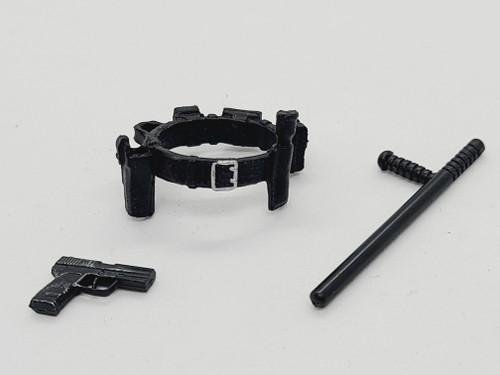 Police Belt with night stick & gun < 2020 Advent Calendar >
