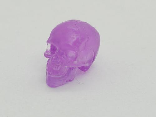 Purple Skeleton Skull