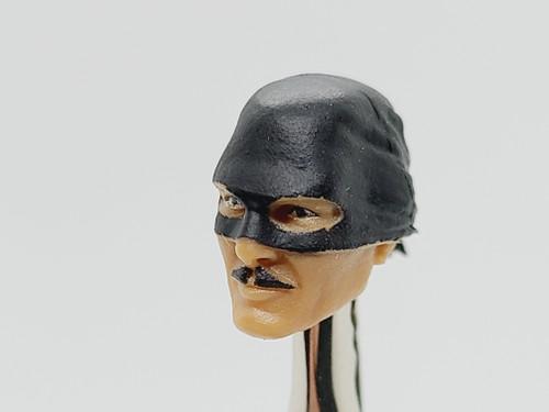 Zorro Masked Head - Hero HACKS