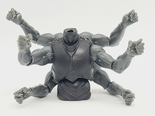 SATURDAY NIGHT SPECIAL - Custom ARMED > Black Knight 6-armed Torso (WITH arms and hands)