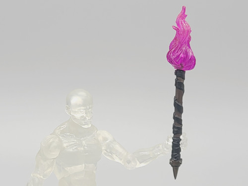 Torch with Pink Flame (Custom)