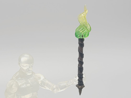 Torch with Yellow/Green Flame (Custom)