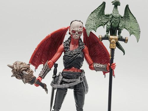 Dragontooth Orc - a Vitruvian Armory Custom
