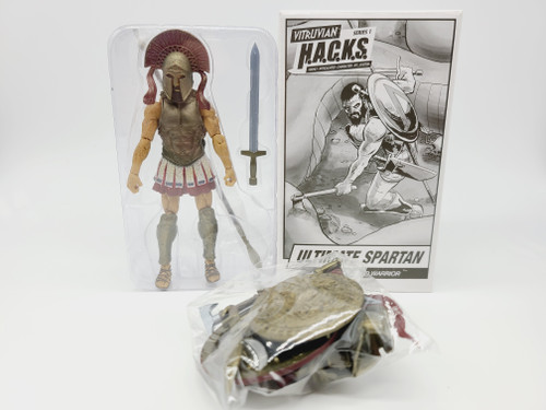 Ultimate Spartan - COMPLETE WITH BOX - Series 1, NJCC Exclusive