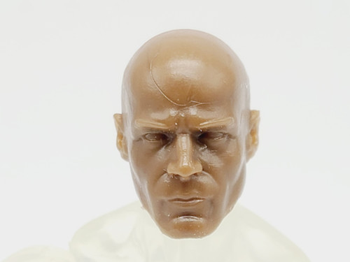 Walnut Male Bald head