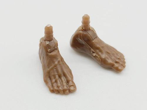 Walnut Male Bare feet