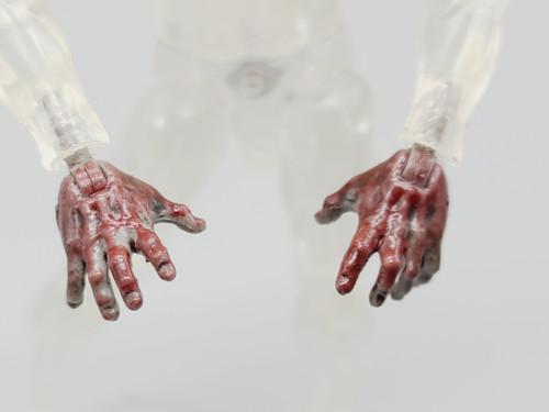 Officer Zed Zombie Open Hands