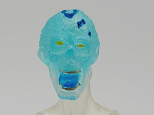 Cryo Zombie Screaming Head