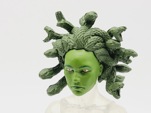 Pre-Curse Medusa Head