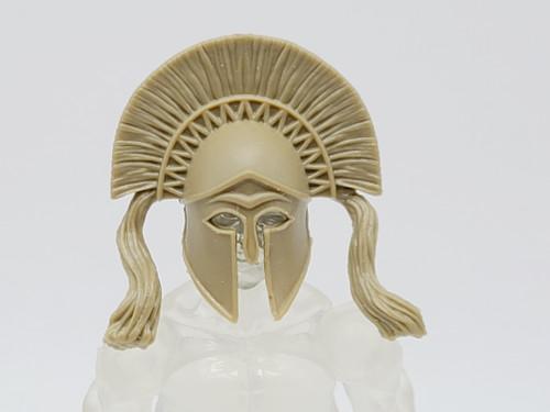 Test Shot - Tan Athenian Helmet