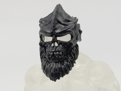 Test Shot - Black Orc Bearded Faceplate