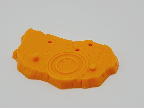 Test Shot - Orange Stone Stand