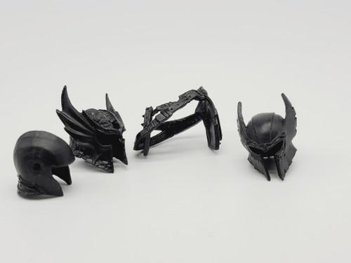 Test Shot - Black 4 piece Lot