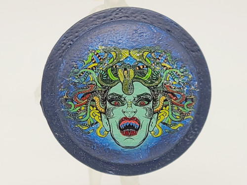 Blue Medusa Shield  <<<  A Vitruvian Armory Custom