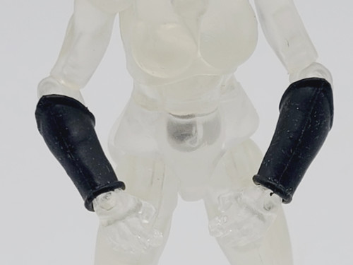 Black Smooth Gauntlets (soft) >  Test Shot