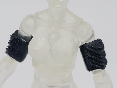 Black Bicep Armor  pair (soft) >  Test Shot