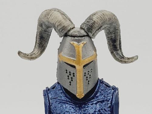 Ram Horn Knight Helmet (CUSTOM)