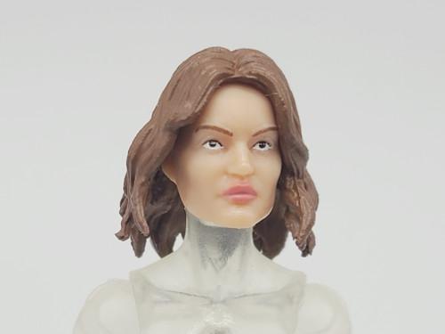 Female Zombie Fighter Head