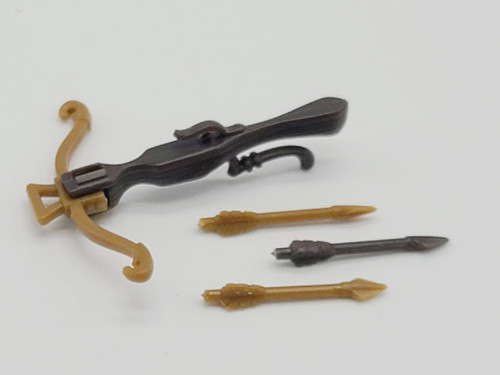 2 Tone Brown Crossbow & 3 Bolts >  Test Shot