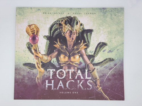 TOTAL HACKS (Stheno Cover) -  Book with photos (Signed)