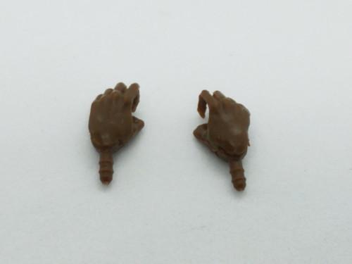 Coffee Brown Female Vertical hands