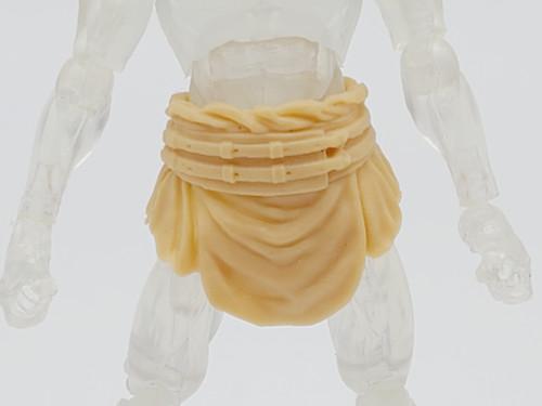 Beige Male Gladiator Skirt >  Test Shot