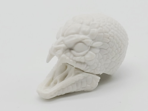 Cloud White Gorgon Head > Test Shot