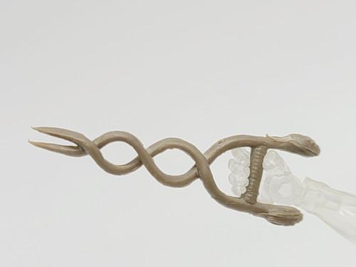 Tan Short Snake Twist - Test Shot