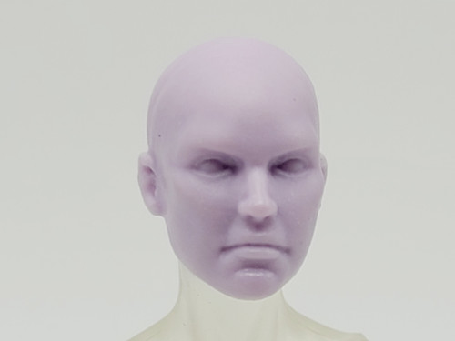Python Purple Eurayle head (no hair) > Test Shot