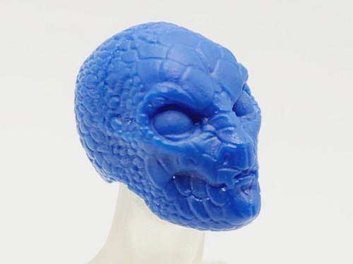 Hero Blue Gorgon Head (closed mouth) > Test Shot