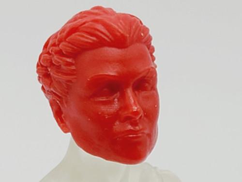 Lipstick Red Tartarus Guard head (no braid) > TEST SHOT