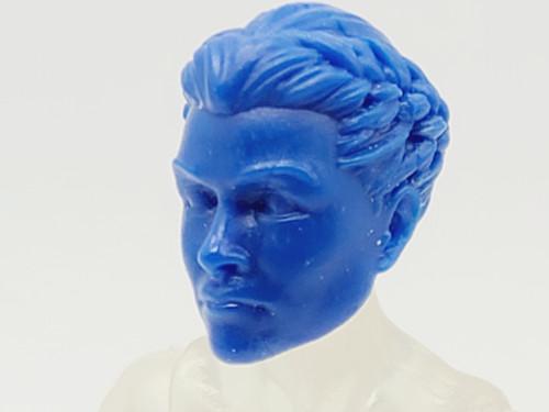 Hero Blue Tartarus Guard head (no braid) > TEST SHOT