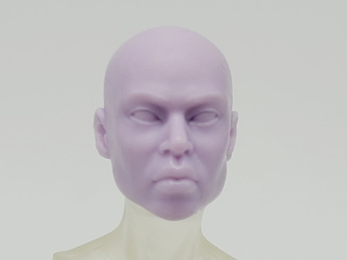 Python Purple Stheno head (no hair) > TEST SHOT