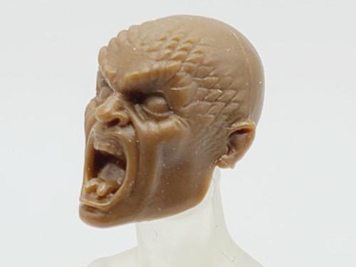 Light Brown Medusa  head (no hair) > TEST SHOT