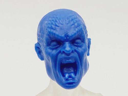 Hero Blue Medusa head (no hair) > TEST SHOT
